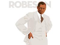 Paul Robeson blacklivesmatter illustration procreate ipadpro