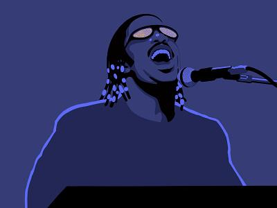 Stevie Wonder black lives matter portrait procreate ipadpro illustration