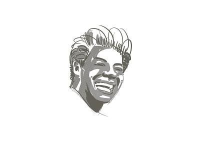 Maya Angelou black lives matter portrait procreate ipadpro illustration