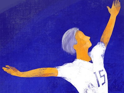 One nation, one team procreate ipadpro rapinoe us womens soccer soccer