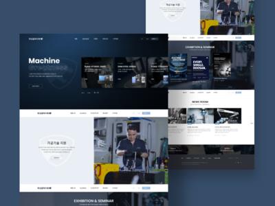 Doosanmachine Tools Concept