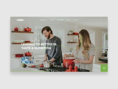Dupont - Web concept