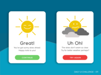 Daily UI 011 - Flash Messages
