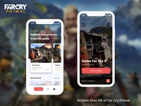 Dribbble Shot Hd of Far Cry