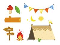 Camp Flat Illust