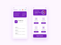 btc product that manages your bank transfer