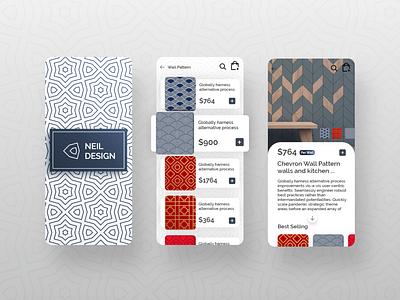 Wall Tiles Collection Apps Design interaction uiux website concept uidesign trendy popular design dribbble best shot apps screen covid-19 website apps design.interaction apps design