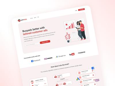 Adsenses landing page landing page design online marketing seo servies uiux web design landing page digital marketing agency digital marketing 2020 trends