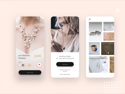 Jewelry shop mobile application design playstore app store logo application design mobile application design shopping app android apps design app icon design branding ux ui shop mobile application development mobile application