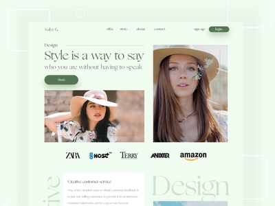 Fashion landing page branding website web design webdesign responsive redesign adidas originals zara fashion app model uidesign uiux landing page template landing page design landing page fashion design fashion brand fashion