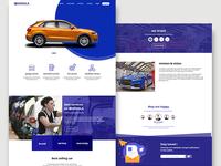 Carwala web UI/UX design 2