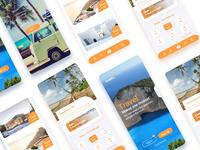 Resort apps UI design