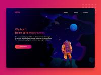 Astro web Concept