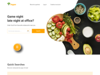 Vegan Restaurant Landing Page By Aich