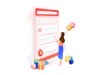 illustrations_ shopping