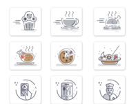 Food Icons And Graphics