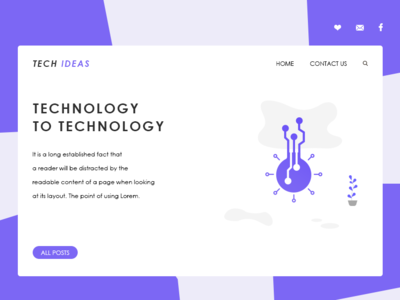 Landing Page For Website