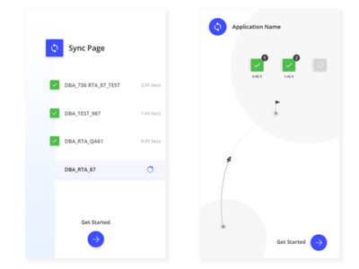 Mobile Sync Page