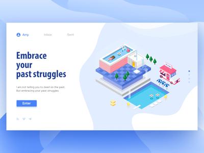 UI Design app illustration ui design