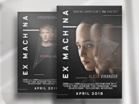 Ex Machina Movie Poster (Redesign)