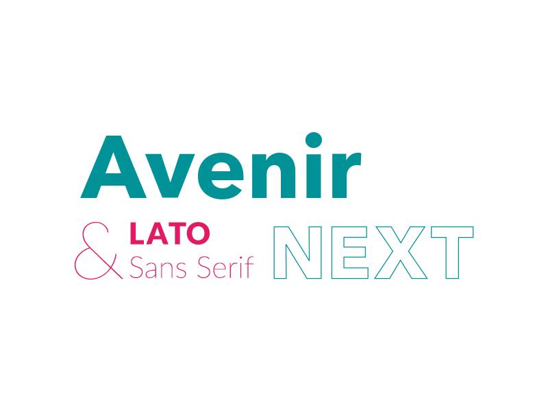 Avenir Next by Clément Menant on Dribbble