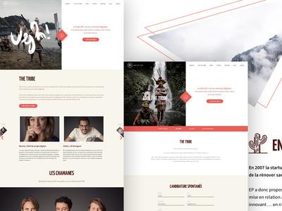 EP - Tribe split screen website frenchtech nantes startup tribe ep