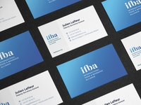 ifba business cards