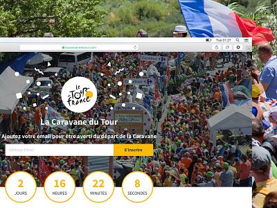 La Caravane du Tour caravane du tour tour de france bicycle bike france countdown