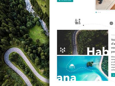 Landing Page web design landing page path travel
