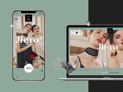 AA&SQ - Shop Designer Clothes. fashion vogue illustration interface clean minimal photo clothes shop