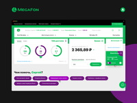 Megafon - User Account