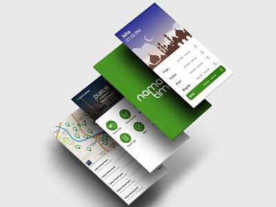 Prayer Time dribbble logo creativity applications app application ui uxdesign color cards buy now application ux ui design app ui design app ui application