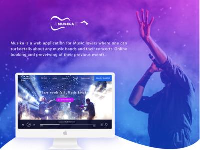 Musika Web Application