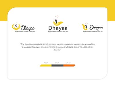 Logo Design- Dhayaa Children's Welfare Trust