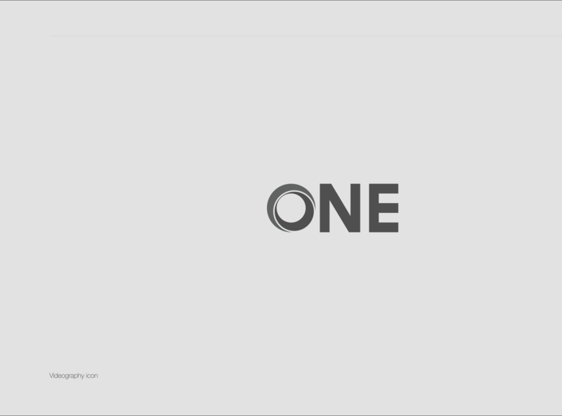 ONE app icon geometric ux vector design ui aesthetics logodesign branding