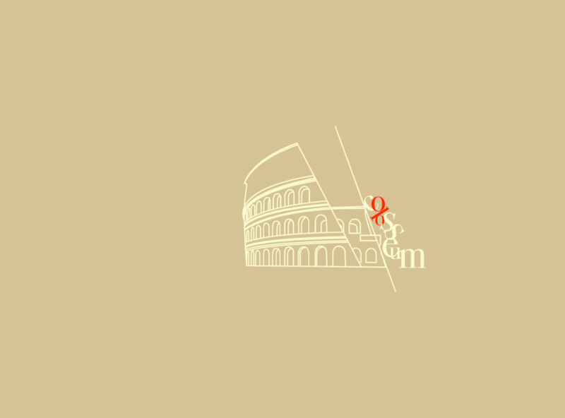 Colosseum Illustration web flat design typography designmatters geometric illustration minimaldesign aesthetics branding