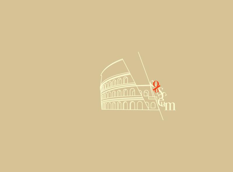 Colosseum Illustration web flat design typography designmatters geometric illustration minimaldesign aesthetics branding