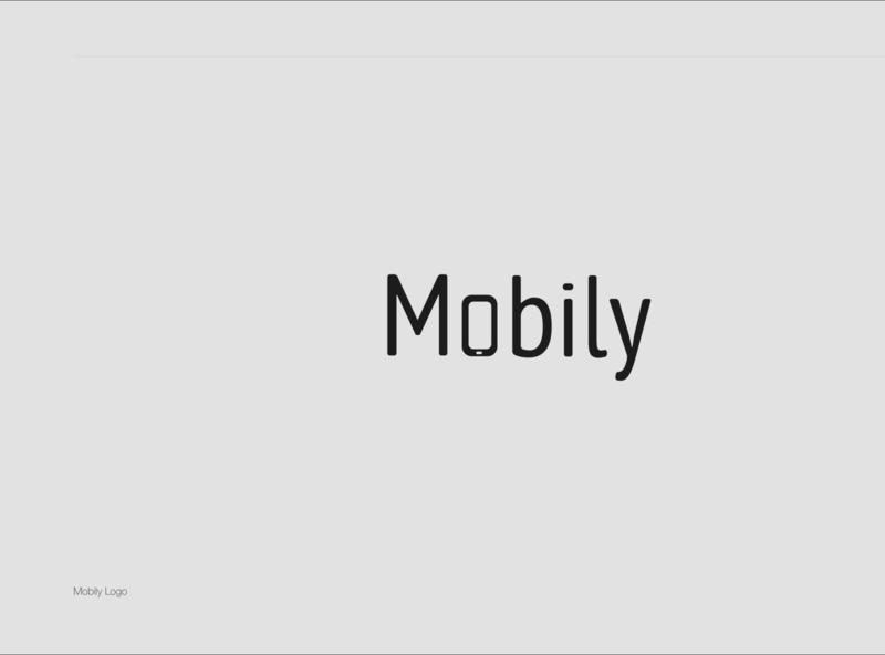 Mobily Logo aesthetics vector design logo flat illustration icon minimaldesign logodesign branding