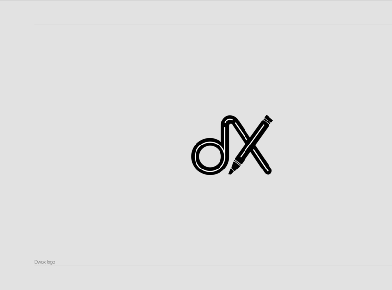 Dwox Logo logo web app typography geometric designmatters minimaldesign logodesign aesthetics branding