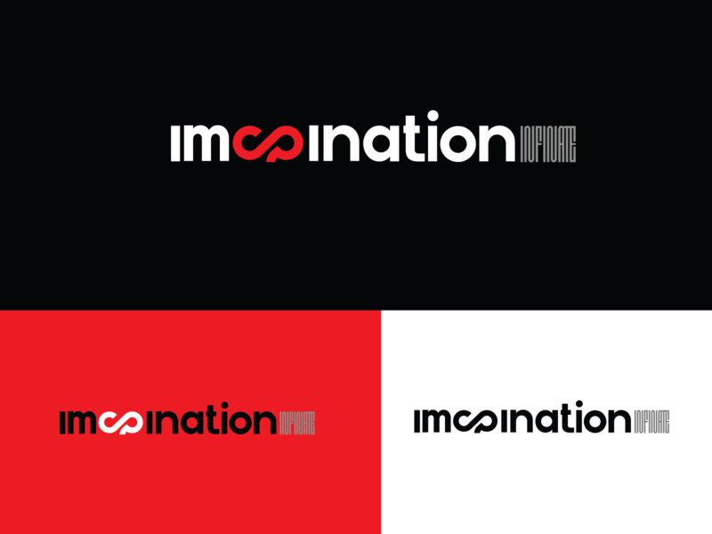 Imagination infinite minimal design flat typography icon illustration aesthetics logodesign minimaldesign branding