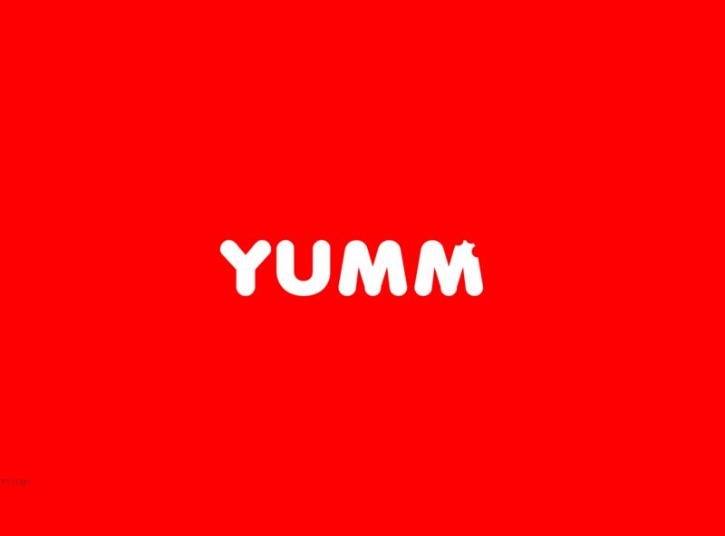 Yumm logo logo design ui icon typography geometric designmatters aesthetics minimaldesign branding