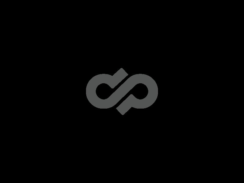 Infinity logo vector flat typography illustration icon designmatters logodesign aesthetics minimaldesign branding