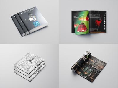 """Catalog design for """"New Light"""""""