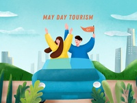 May day tourism
