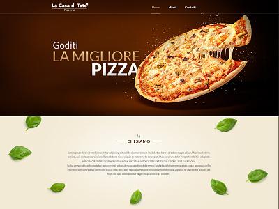 Restaurant Website website design design portfolio yassine restaurant pizza ux ui
