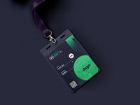 ID Card concept for OPO.design events