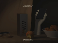 Mobile Site of the year Nominee by the Awwwards