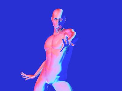 Synth Boy 3d animation sound design 3danimation c4d ae moxy loop design motion animation