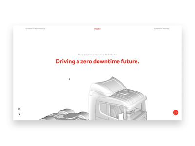 stratio homepage uidesign uiux stratio 3dmodel animation motion