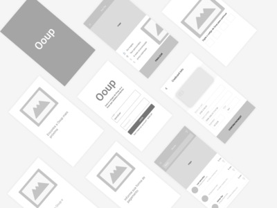 Wireframe ooup